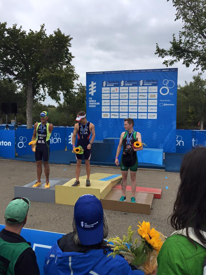 Paratriathlon Medal Success