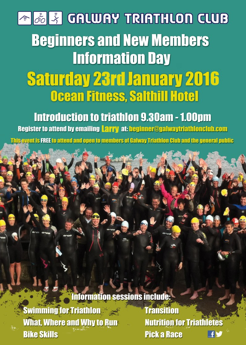 Make 2016 your time to TRI with Galway Triathlon Club