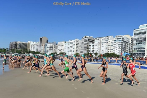 Irish Test Rio's Olympic Triathlon