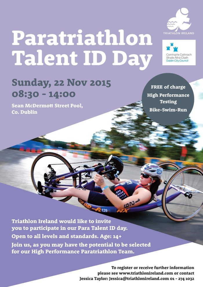 Paratriathlon Talent ID Day