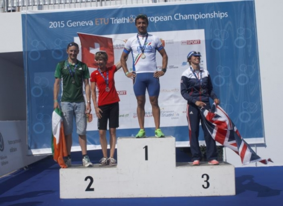 Woods claims Silver for Ireland