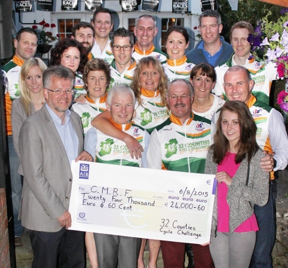 Fundraising Cycle raises €22,000