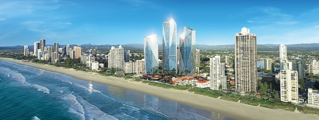 Gold Coast Beach Landscape image