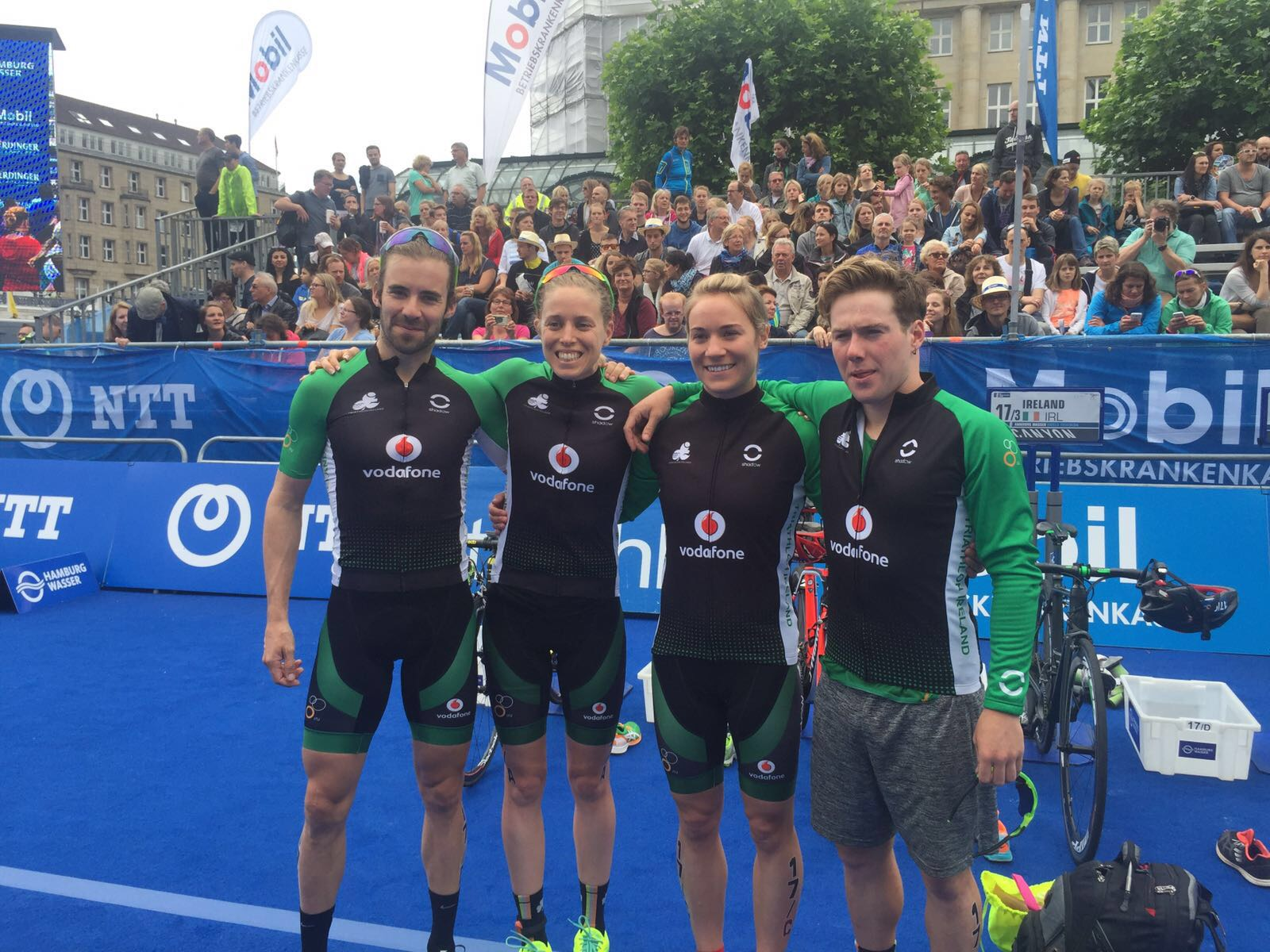 2016 World Mixed Relay Hamburg