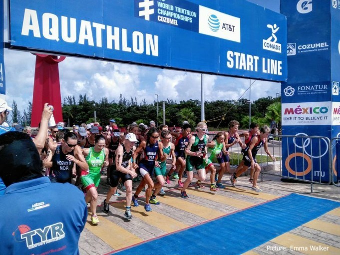 Aquathlon AG Start Line