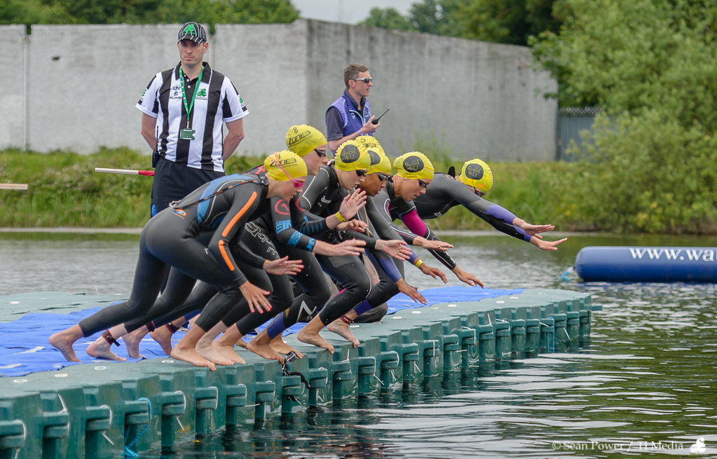 ETU Athlone 2013 - Swim Start