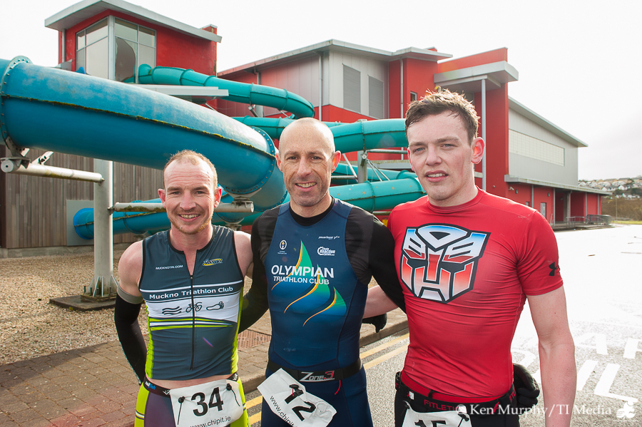 Letterkenny Duathlon 2016 Men's Podium