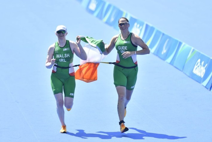 Catherine Walsh Rio Finish Line
