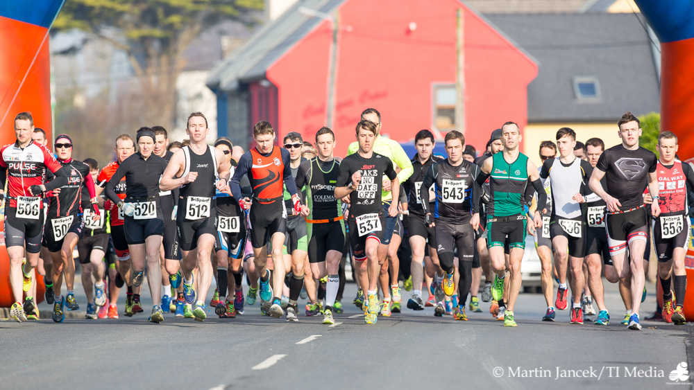 Connemara Duathlon Start