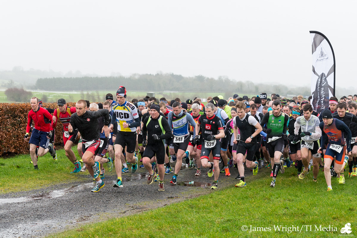 Race Start Naas Duathlon Feb 2016