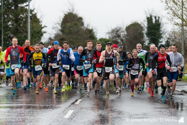 Banner Duathlon Start Pic
