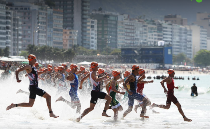 Rio Men's Swim Start