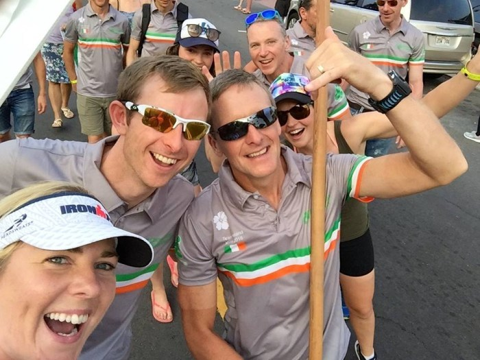 Kona 2016 Team Ireland