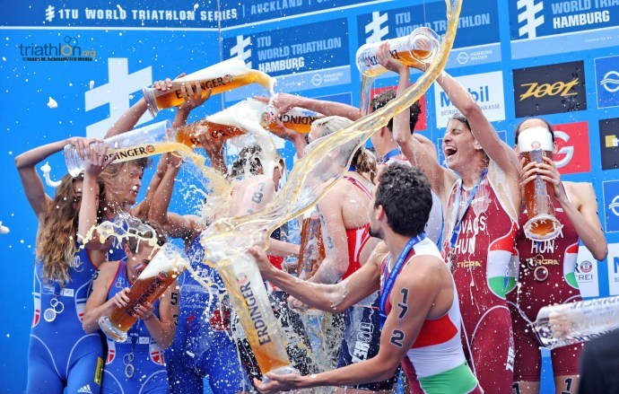 Hamburg Mixed Relay Celebration