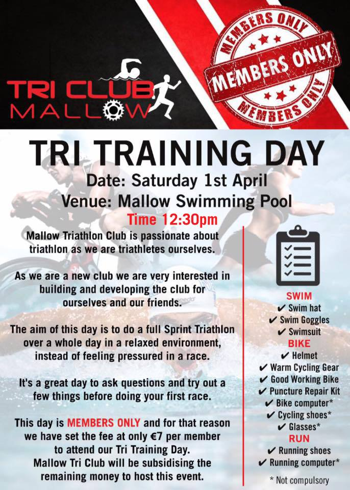 Mallow Tri Club Flyer