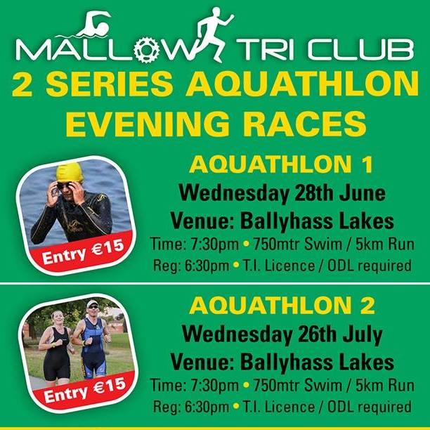 Mallow Tri Club Aquathlon Flyer