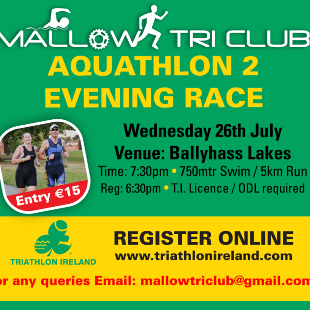 Mallow Aquathlon Race 2 Flyer