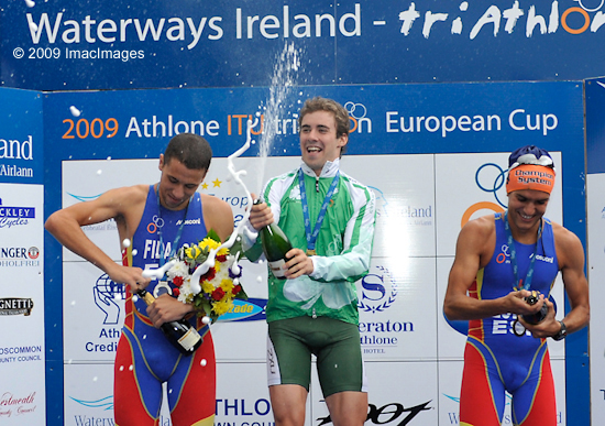 2009 Athlone Podium