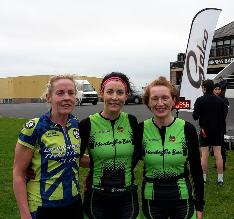 Naas Duathlon January 2017 Women's Podium