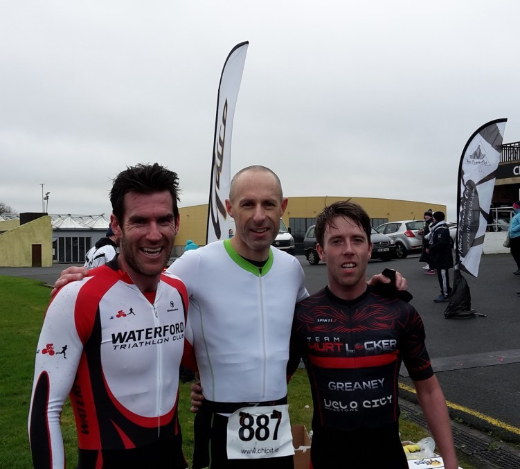 Naas Duathlon January 2017 Men's Podium