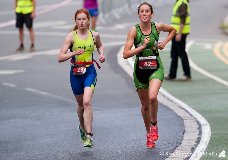 Caron Ryan Niamh Corry DCT 2017 Run