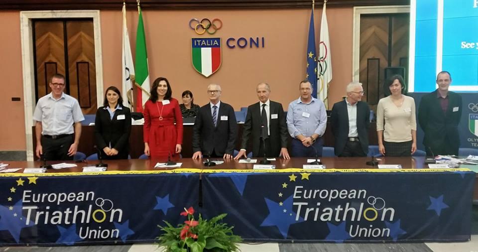 Chris Kitchen Elected ETU Vice President - Triathlon Ireland