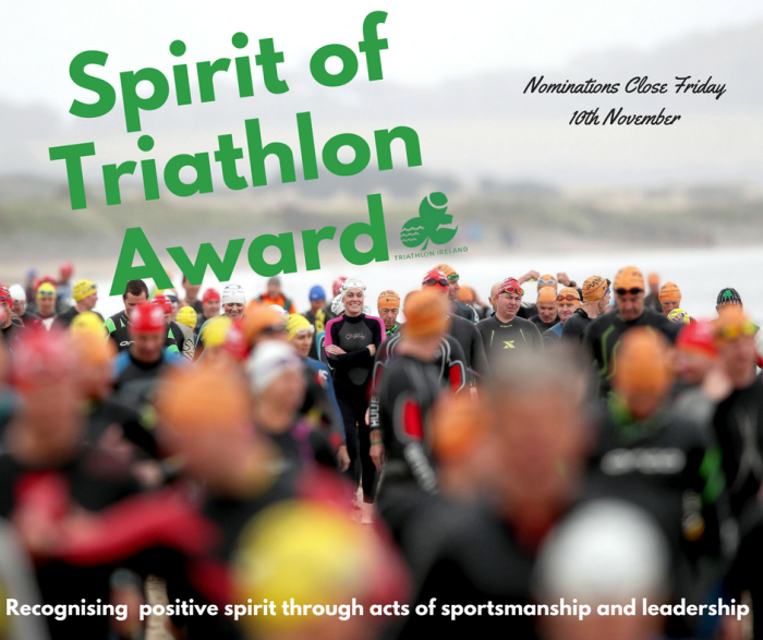 Spirit of Triathlon Award