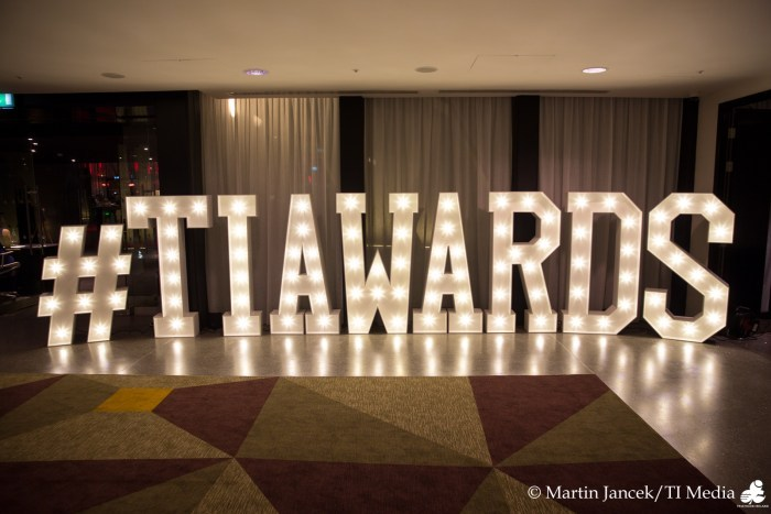TI Awards Sign