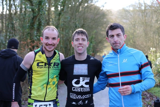 TriLakes Duathlon Men's Podium 2017