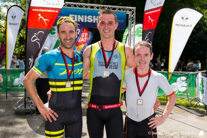 Hazelwood Triathlon 2017 Men's Podium