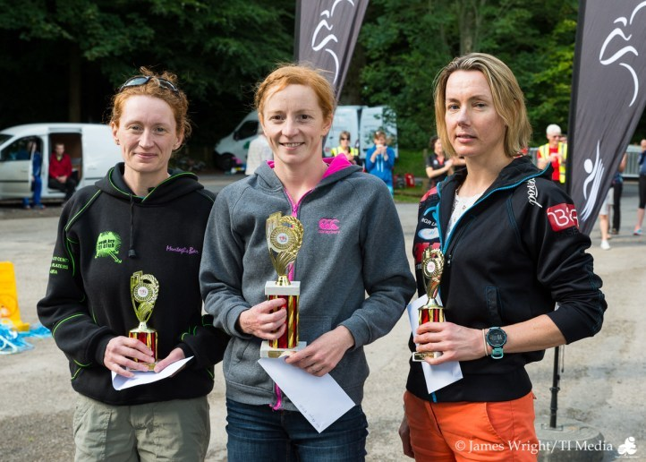 Hazelwood Triathlon 2017 Women's Podium