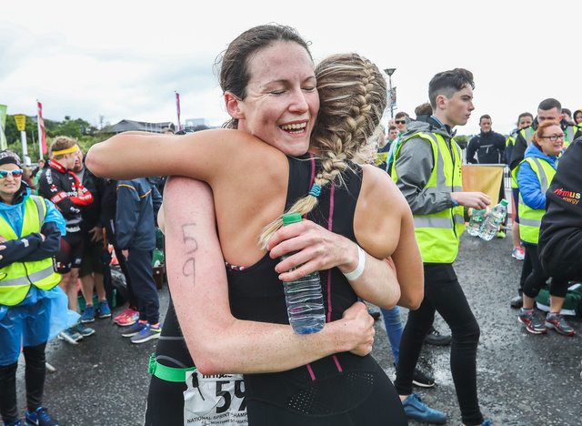 Ailbhe Carroll Finish Line City of Derry 2017