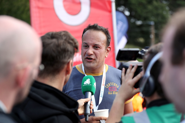 Leo Varadkar DCT 2017 Finish Line Interview