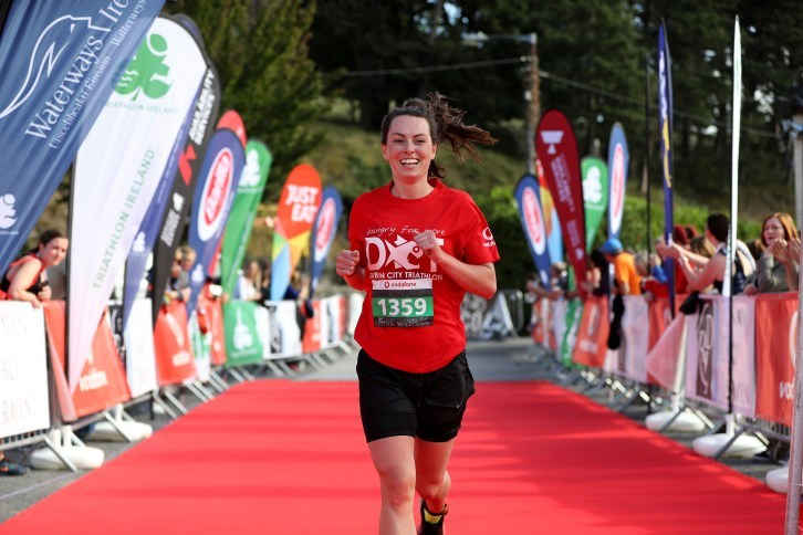 DCT Inpho Girl at Finish Line 2017
