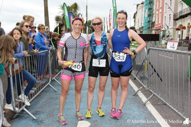 Women's Podium Jailbreak Triathlon 2017