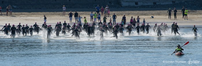 Hell of the West Swim Start 2018