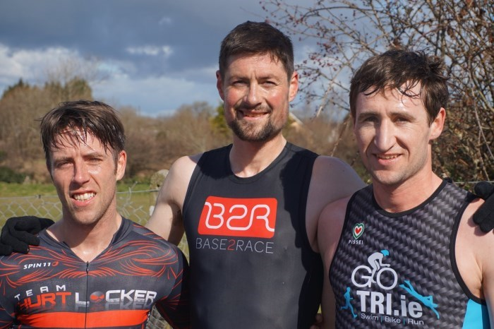 Ennis Duathlon Mens Podium