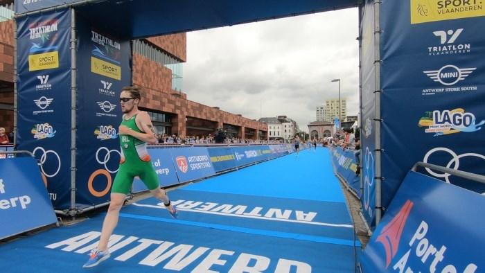 Antwerp ITU World Cup_DDunne Finish