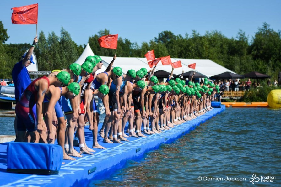 Holten ETU 2018 Swim Start