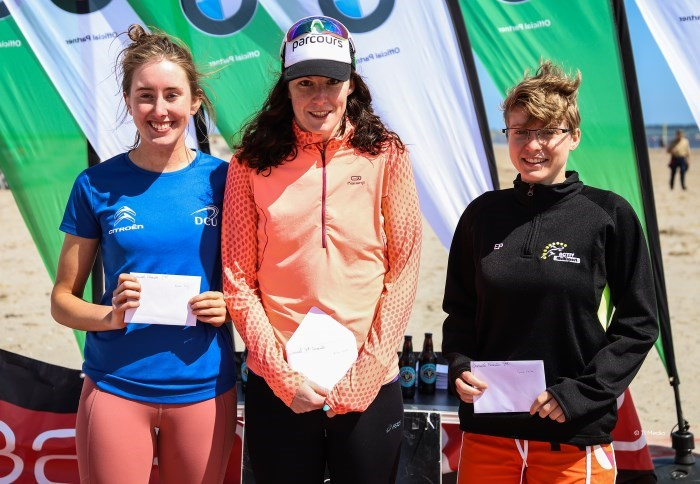 2018 National Aquathlon Senior Womens Podium