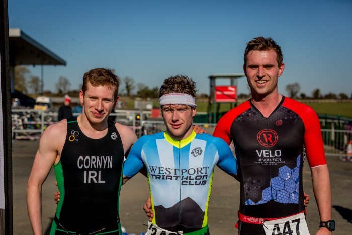 Naas Duathlon Mens Podium
