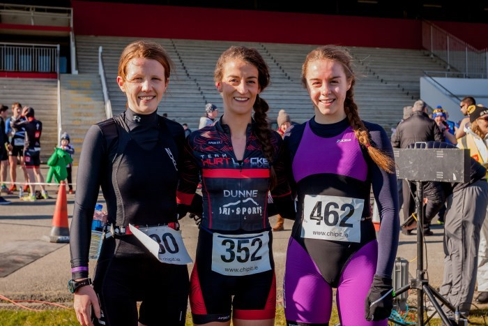 Naas duathlon Womens Podium