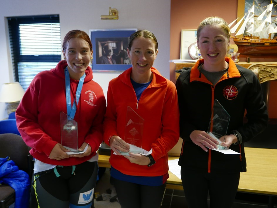 Women's Podium Tri Limits 2018
