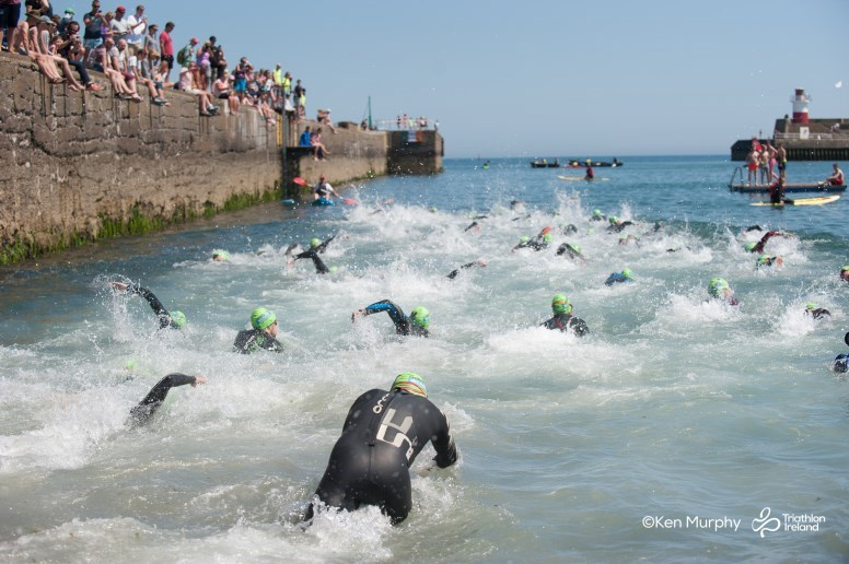 Harbourman Swim Start