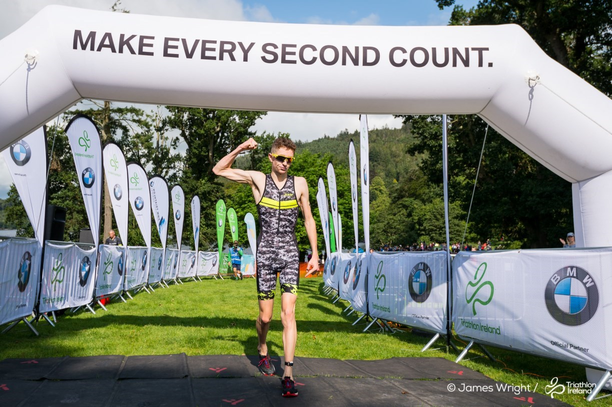 Cillian Tierney Mourne Super Series Finish Line 2018