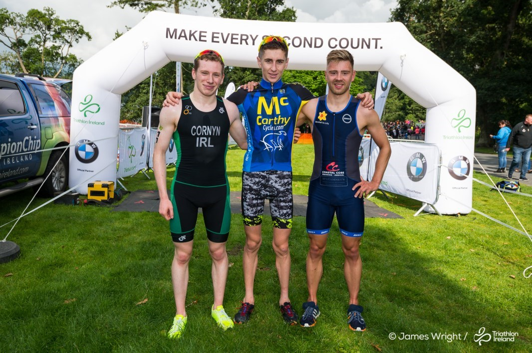 Men's Podium Mourne Super Series 2018