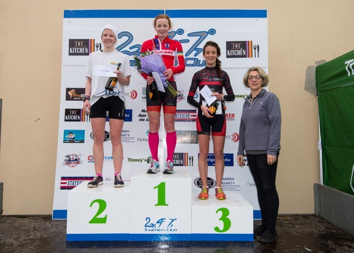 National Duathlon Champs 2018 - Womens Podium