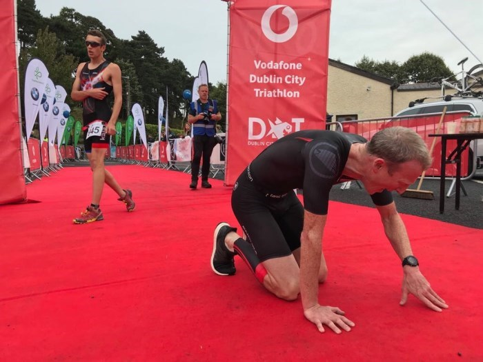 DCT 2018 Finbar McGrady Finish