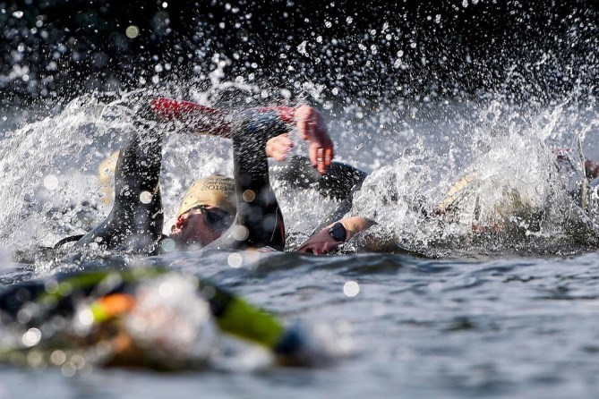 Mourne Triathlon Super Series Swim Generic