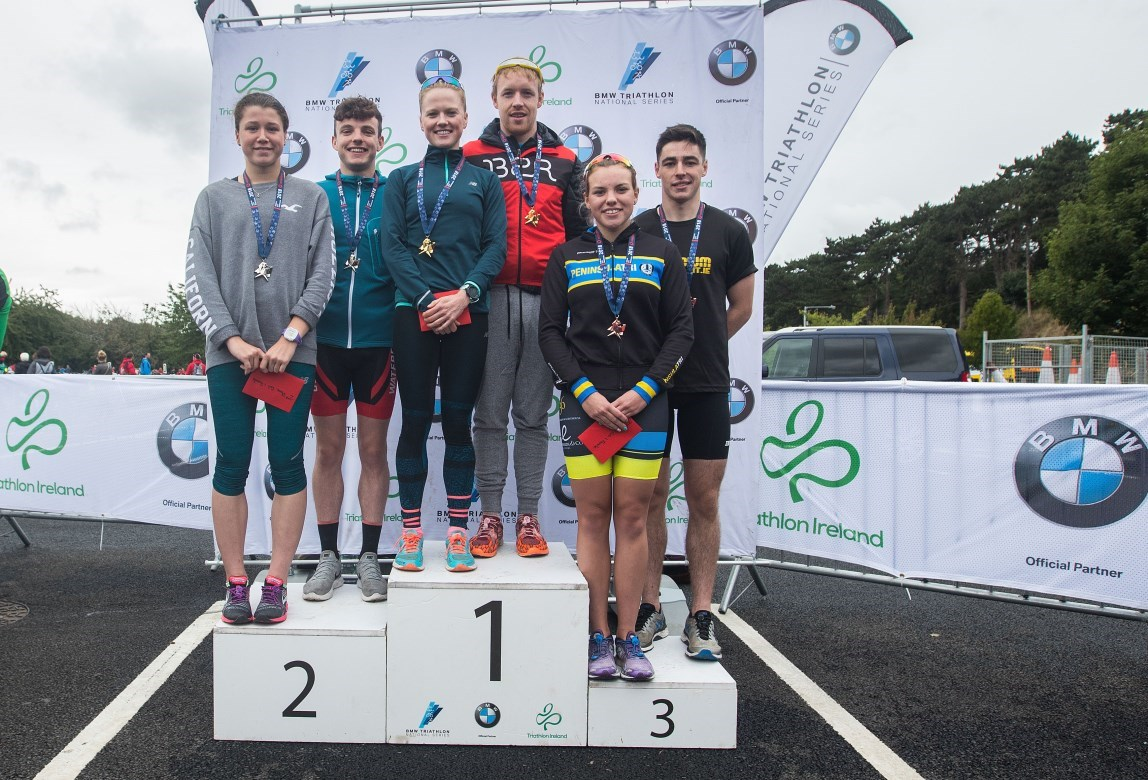 DCT Men's and Women's SS Podiums